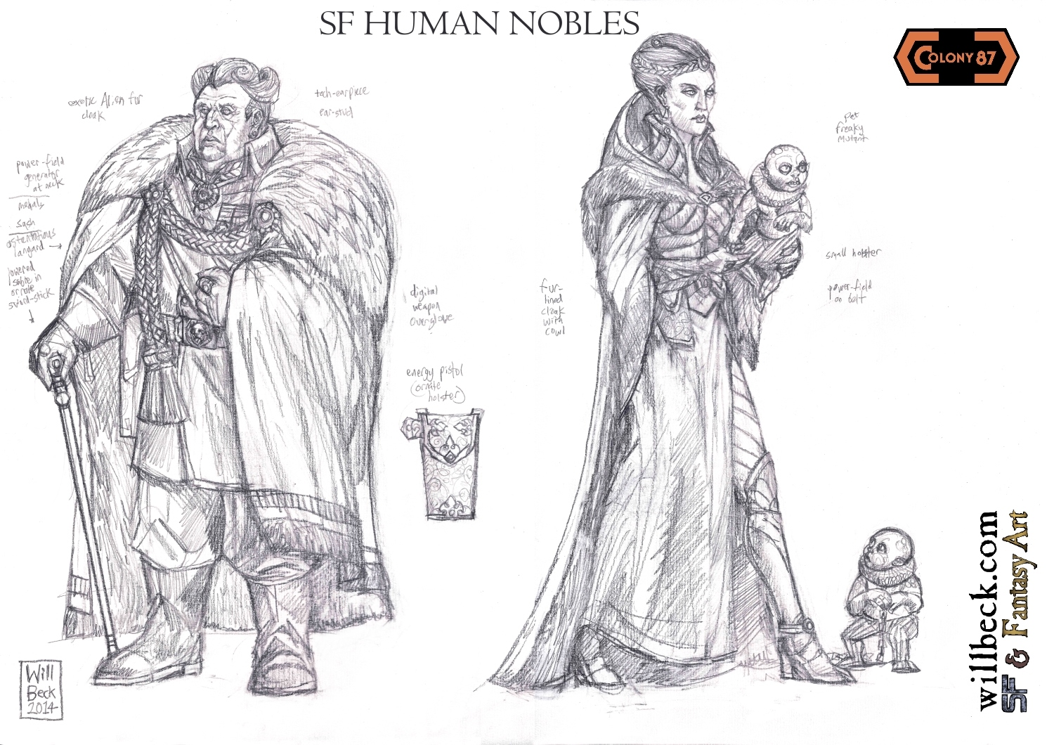 Colony 87 Human Nobles