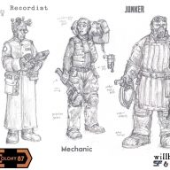 Colony 87 Recordist, Engineer and Junker
