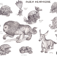 Colony 87 Alien Menagerie