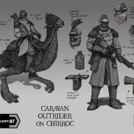 Colony 87 Caravan Outrider on Chirroc