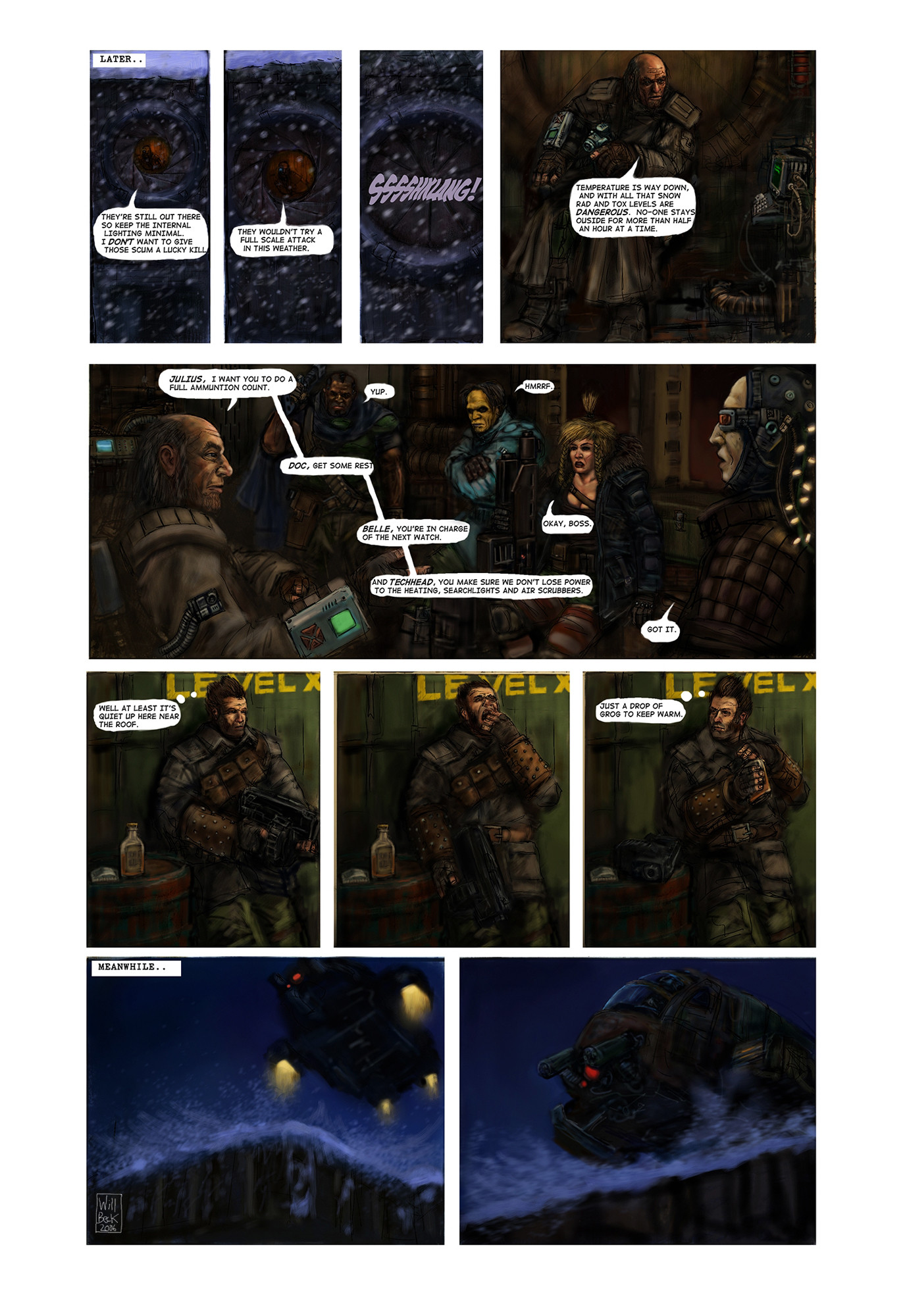 Post Apocalypse Christmas Comic p4