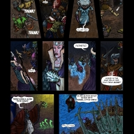 Fantasy Christmas comic p7