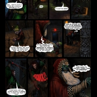 Fantasy Christmas Comic p5