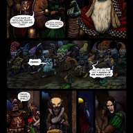 Fantasy Christmas Comic p6