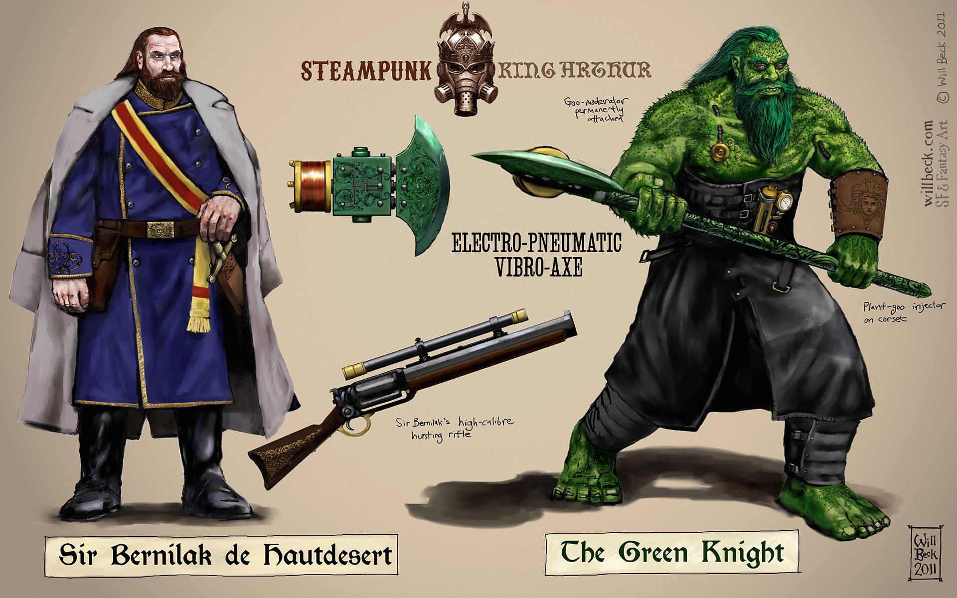 Steampunk Green Knight