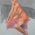 Life Drawing in Pastels (03) 2014