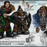 Human variant or 'morph' - Space Dwarf