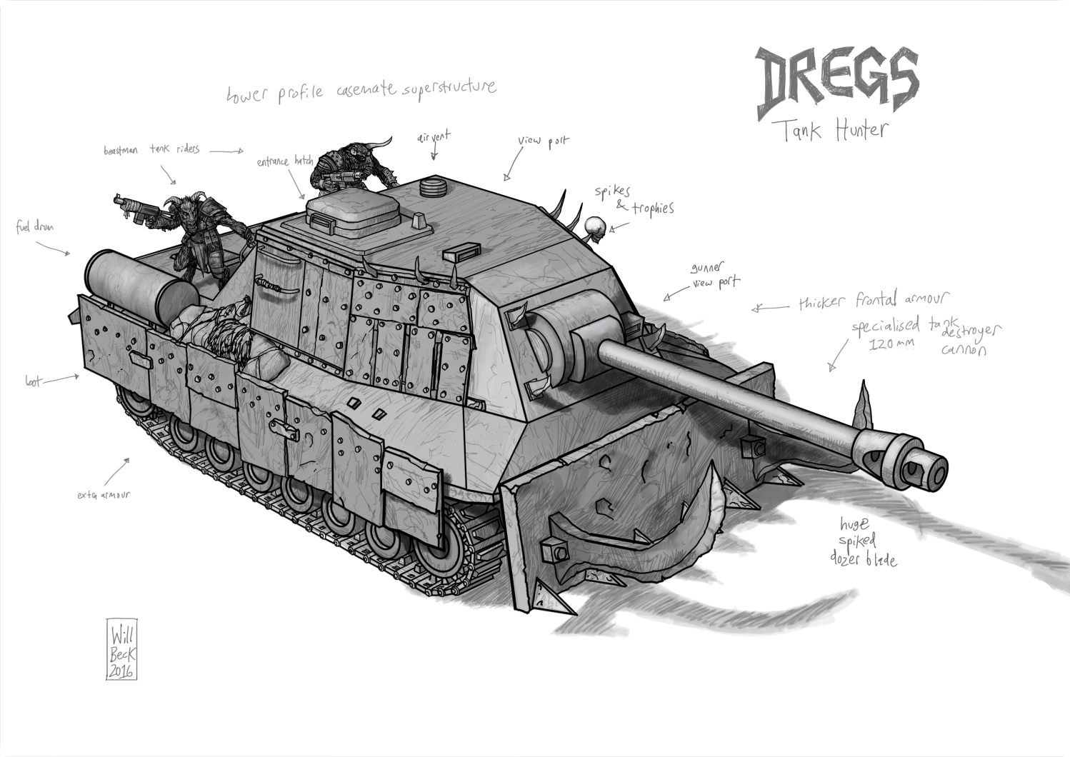 Dregs Tank Hunter