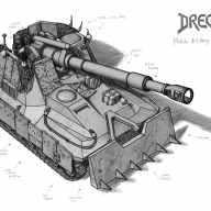 Dregs Mobile Artillery Tank