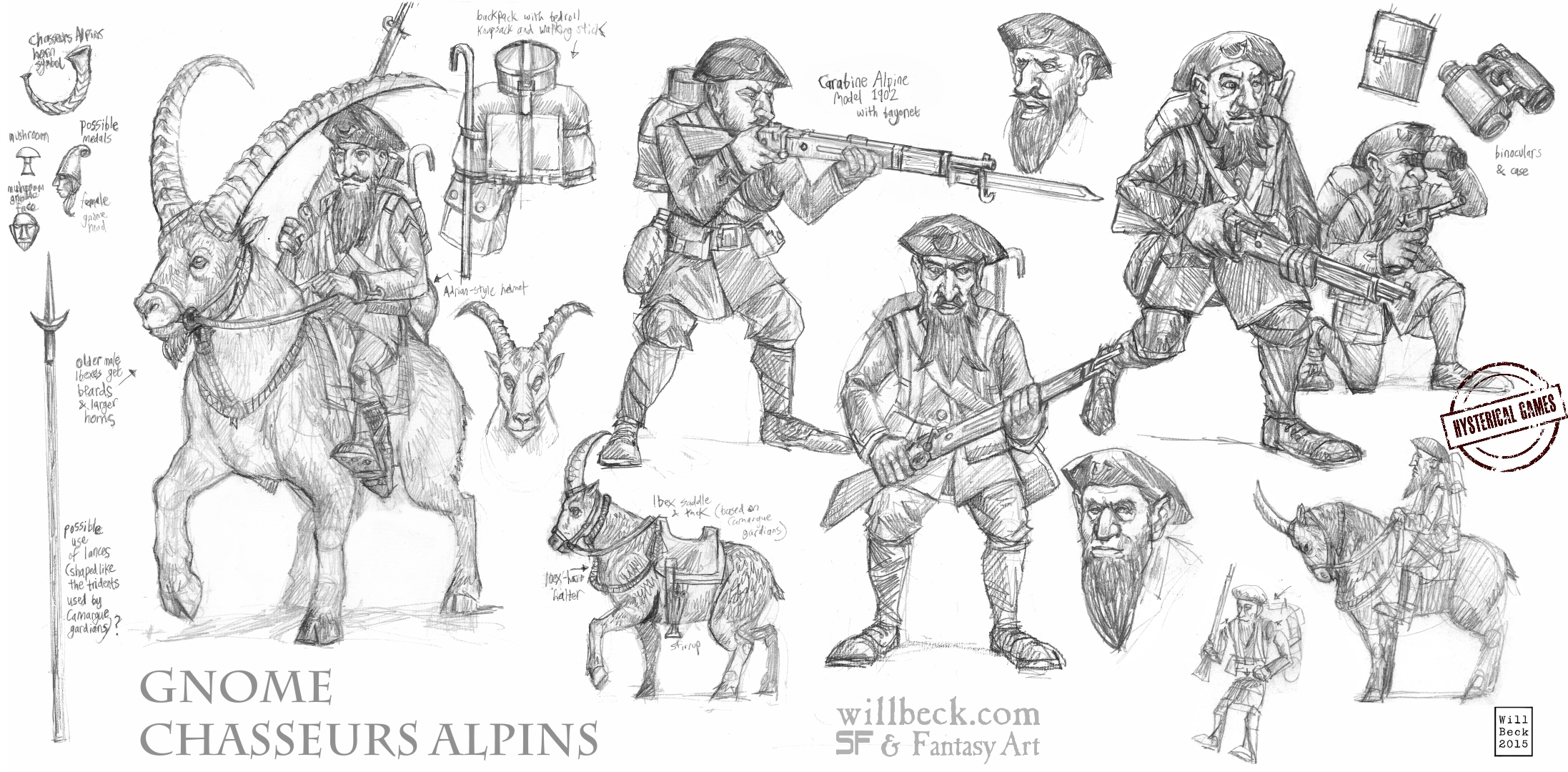 Gnome Chasseurs Alpins