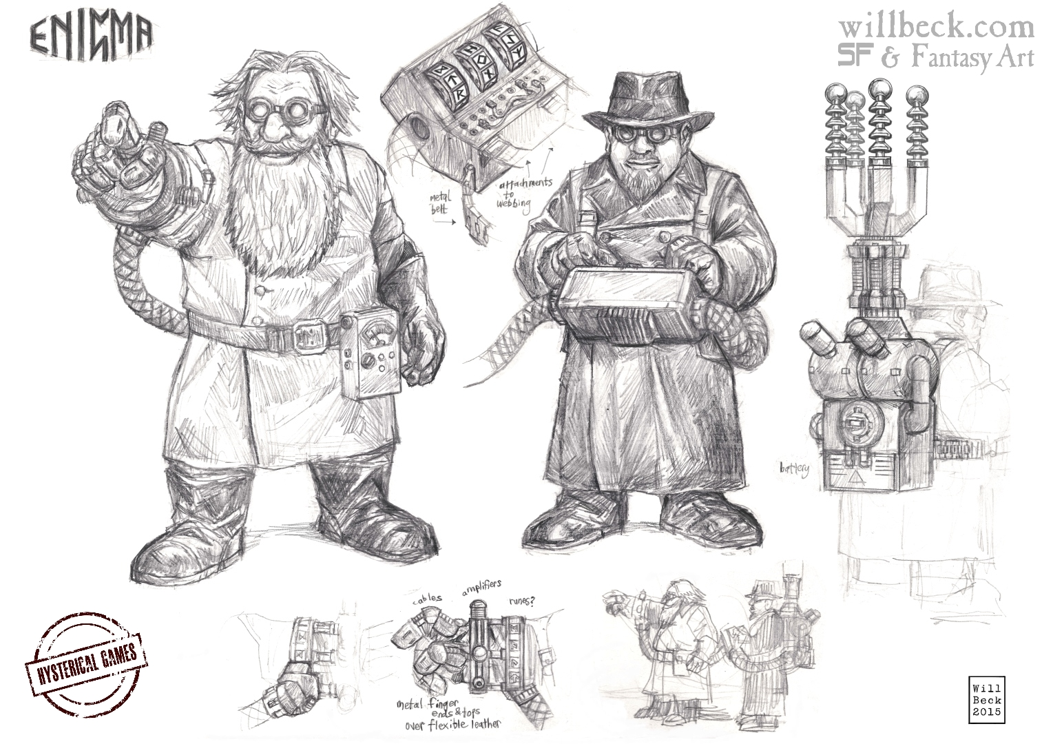 Panzerfäuste Dwarf Enigma machines and Operators