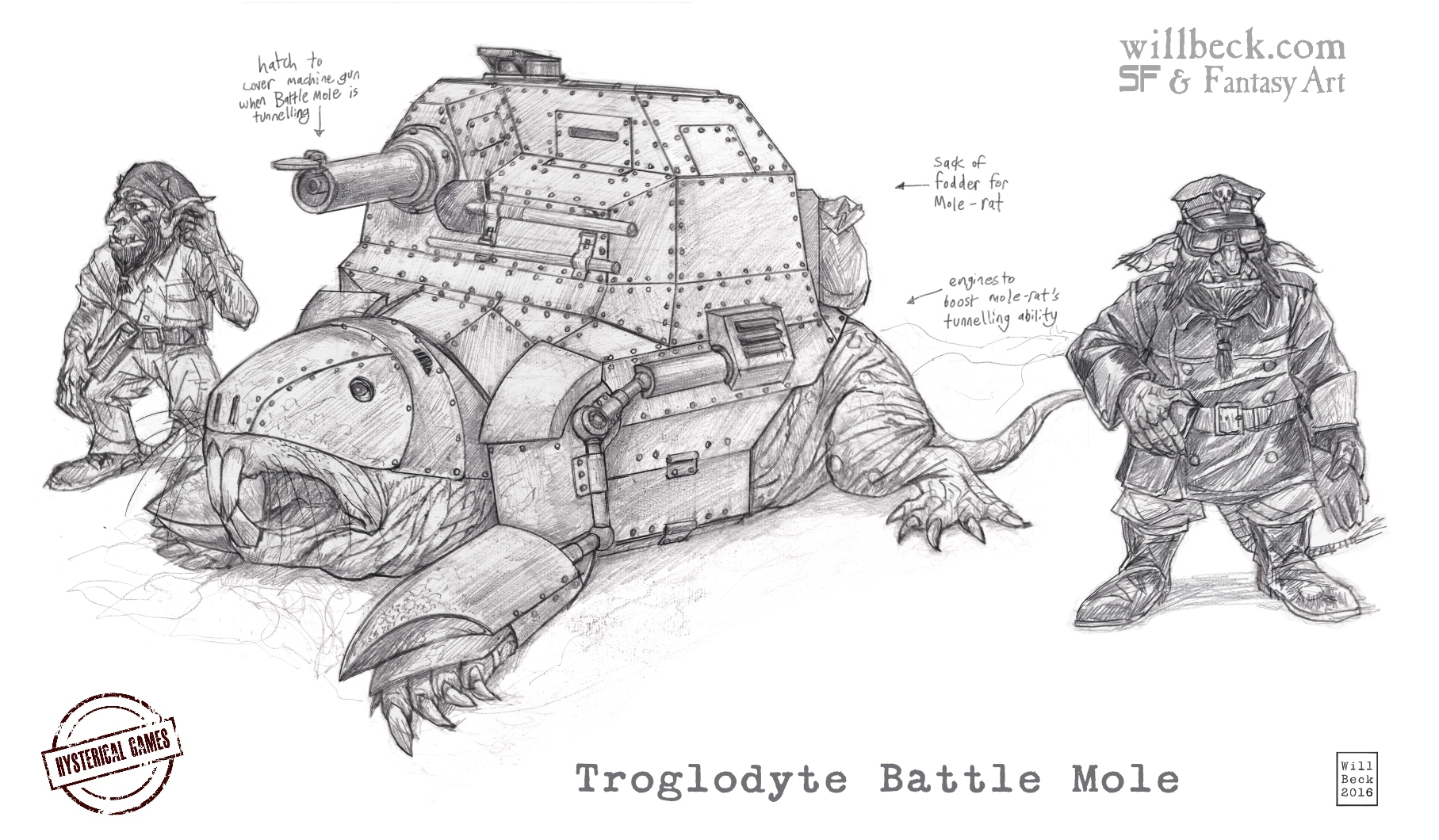 Troglodyte Battle Mole