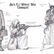 Dark Elf Winter War Command 02
