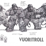 Mountain Troll Infantry
