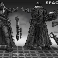 Space Pirate concepts 03 Captain