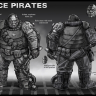Space Pirates - Bo'sun concept