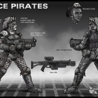 Space Pirates - concept 02