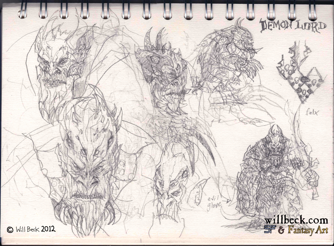more Demon Lord ideas