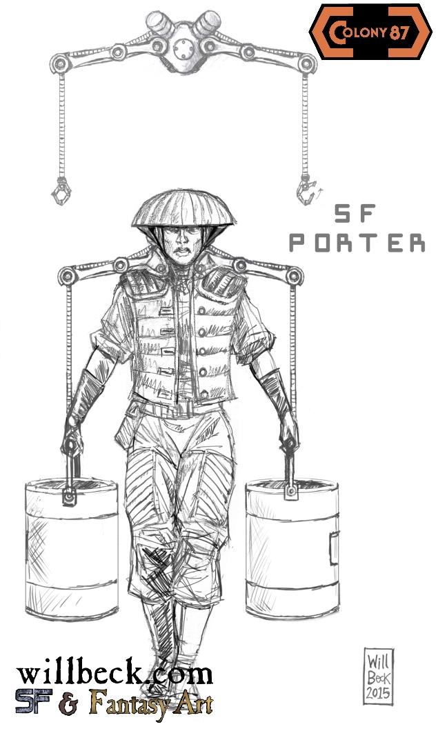 Colony 87 porter