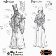 Colony 87 Advisor and Priestess