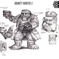 Colony 87 Bounty Hunter 02 - (high-grav worlder)