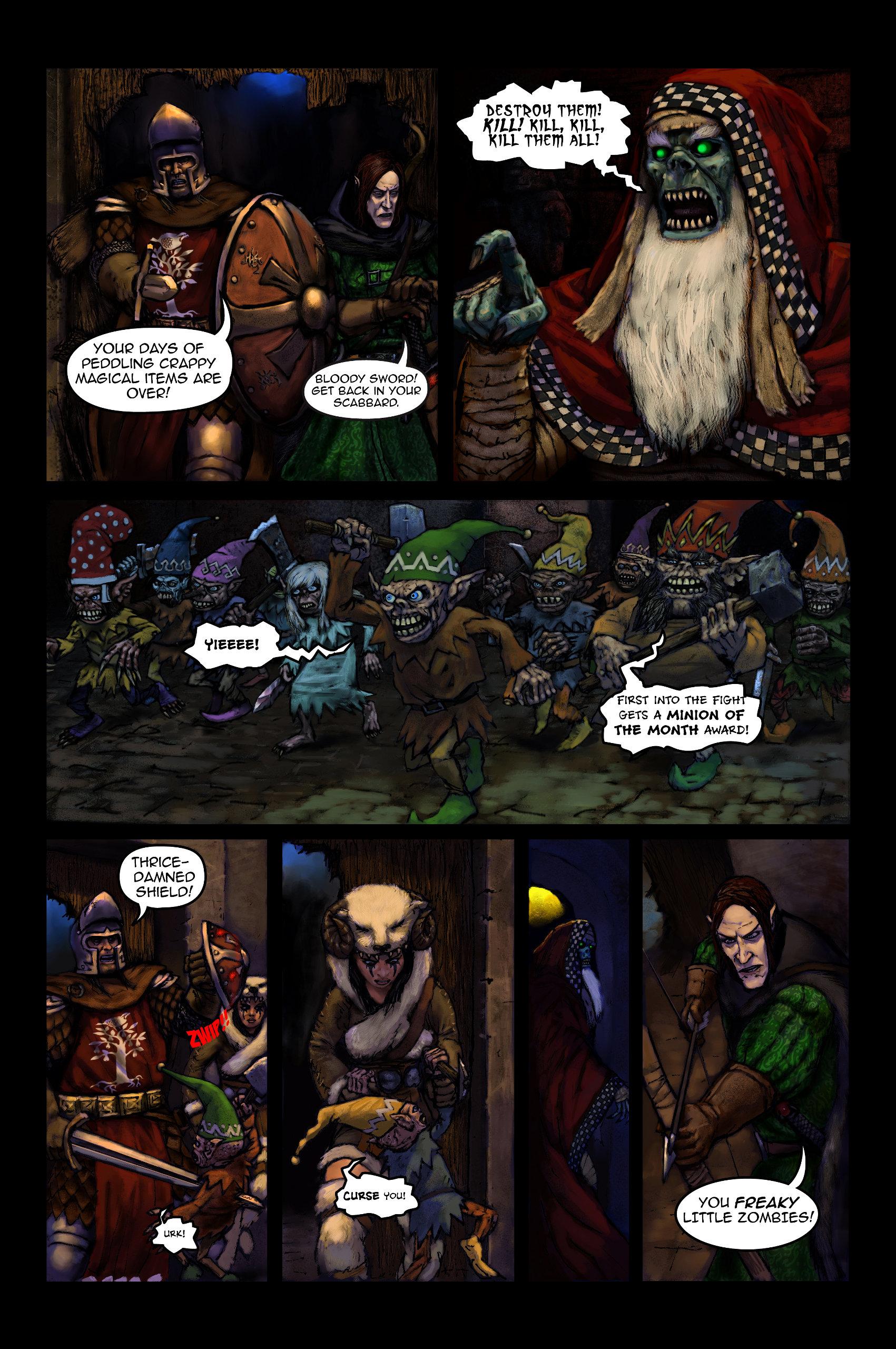 Fantasy Christmas Comic p6