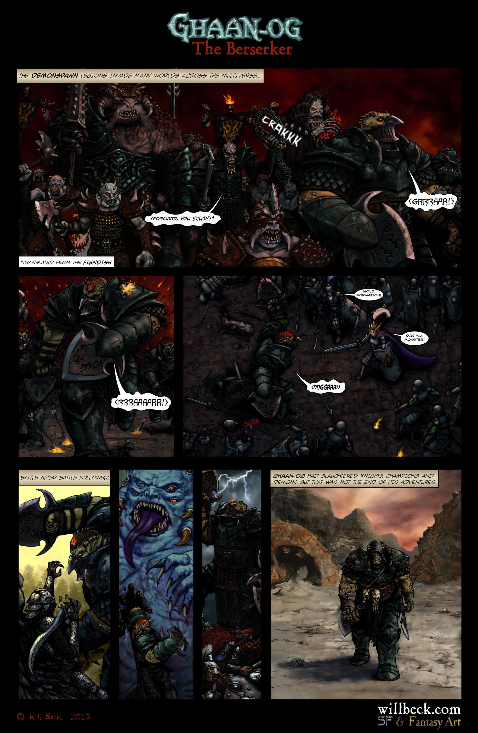 Ghaan-og The Berserker