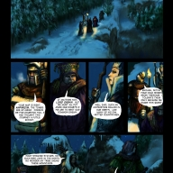 Fantasy Christmas Comic p1