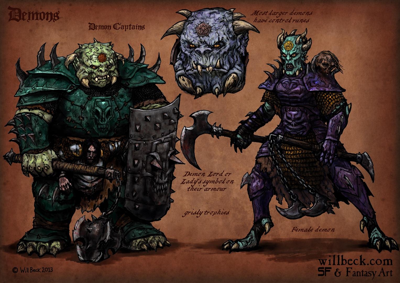 Demon-Captains