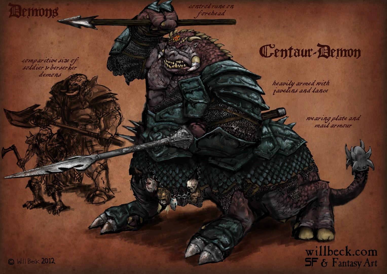 Demons-centaur