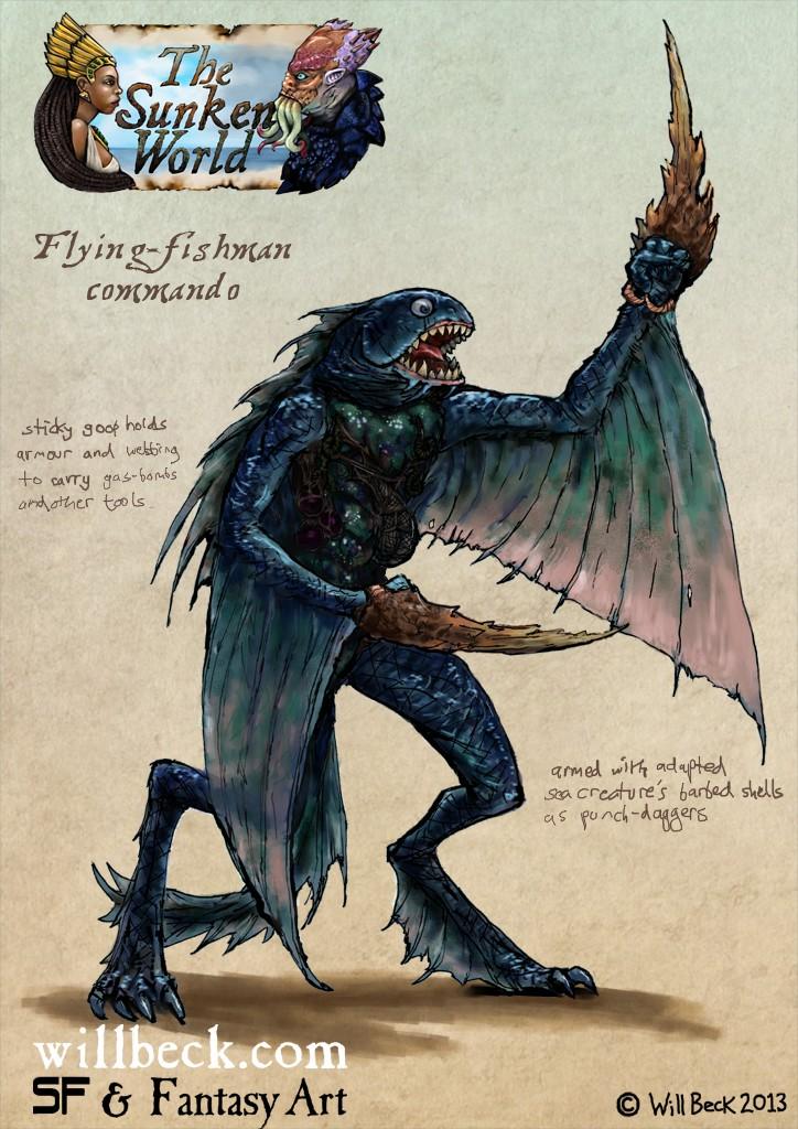 Flying-fishman