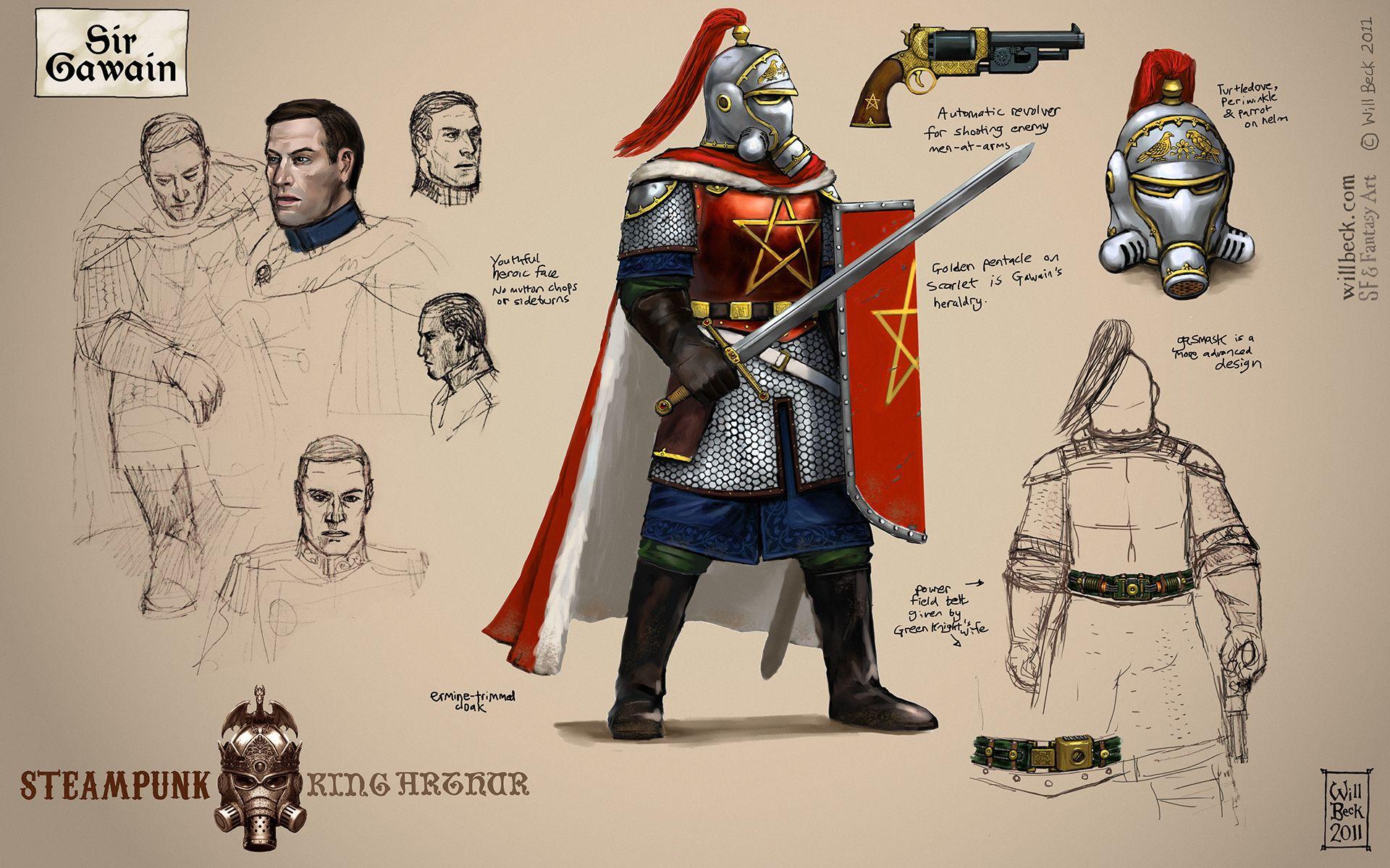 Steampunk Sir Gawain
