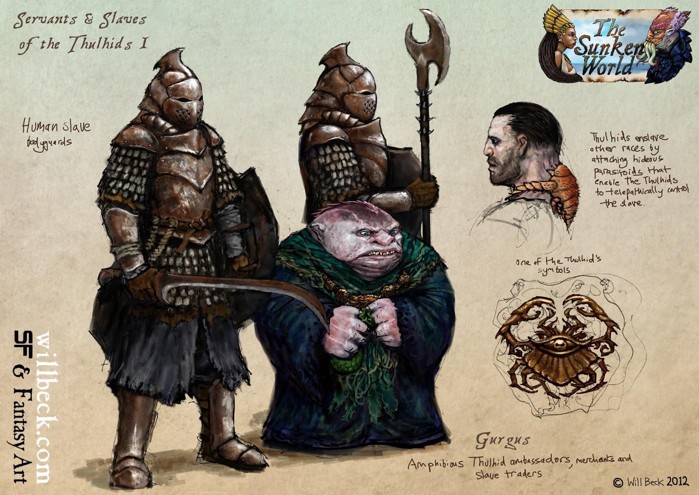 Sunken World Thulhid Slaves 01