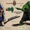Steampunk Green Knight