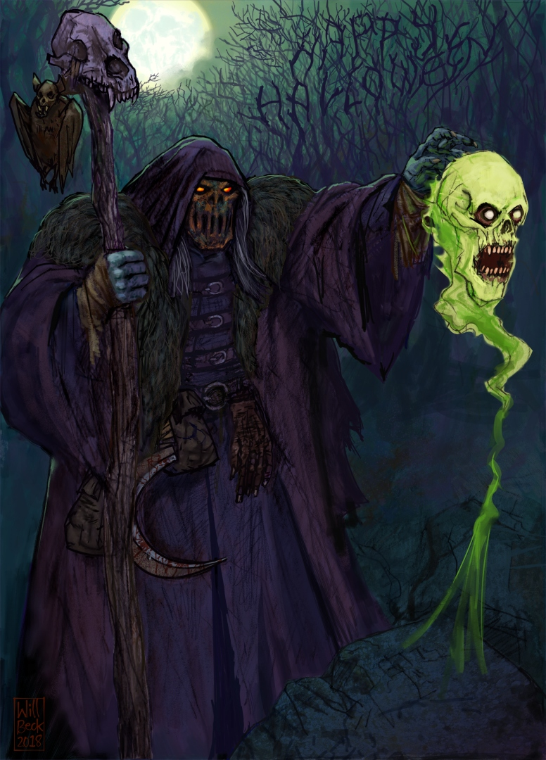 Hallowe'en Necromancer
