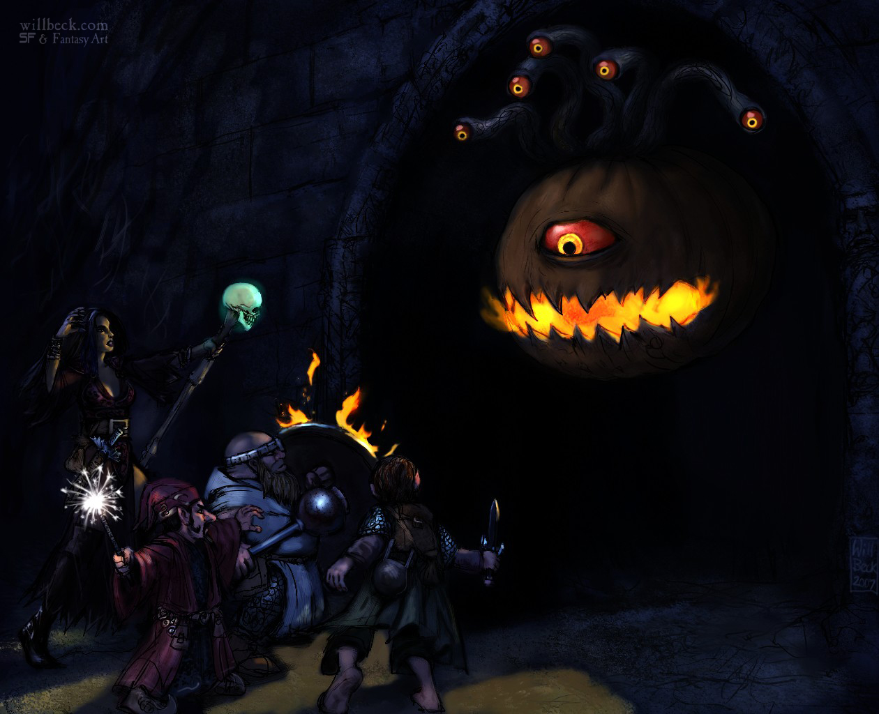 Halloween Beholder