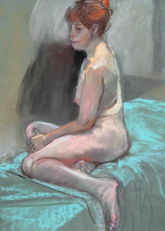 2007 pastel life drawing [02]