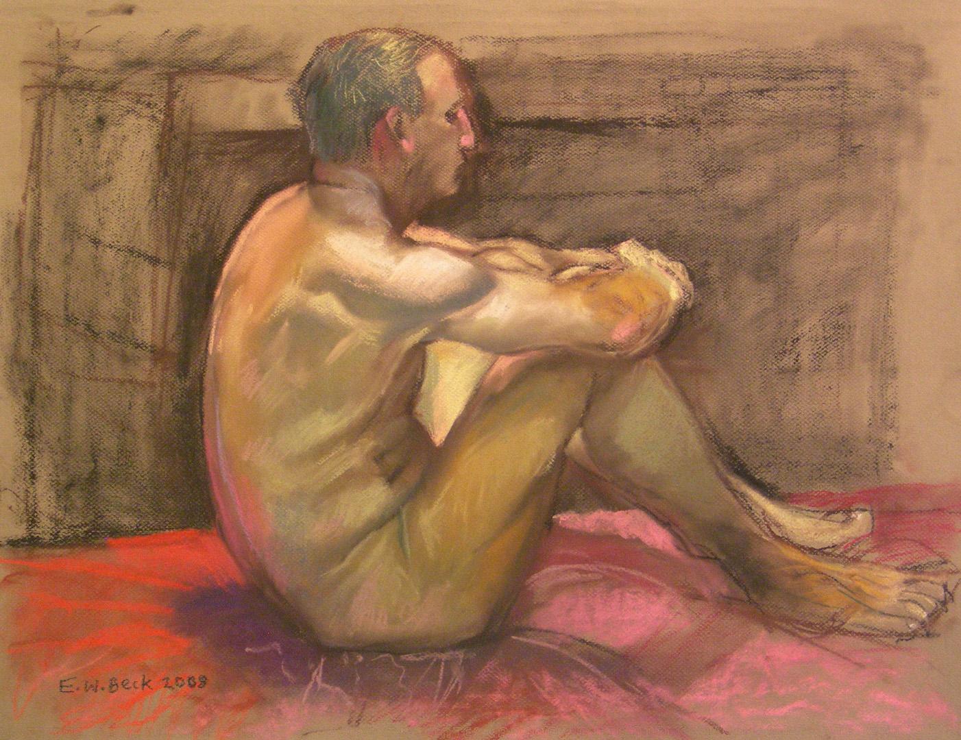 2008 pastel life drawing