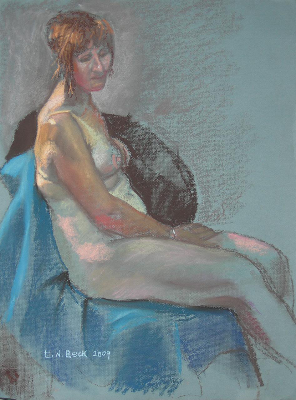 2009 pastel life drawing