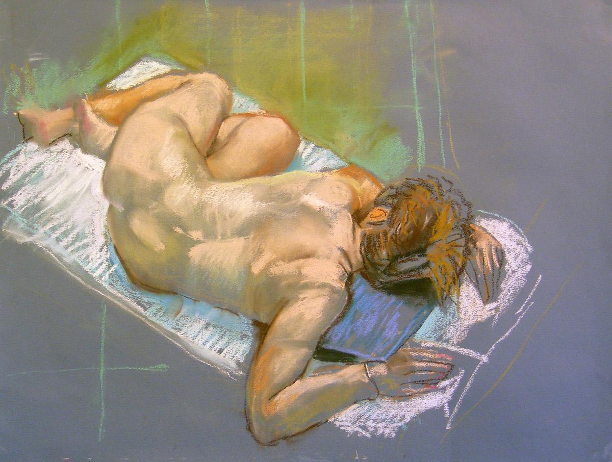 Life Drawing pastels 2009