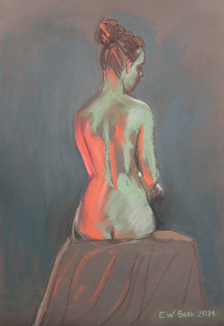 Life Drawing in Pastels (02) 2014