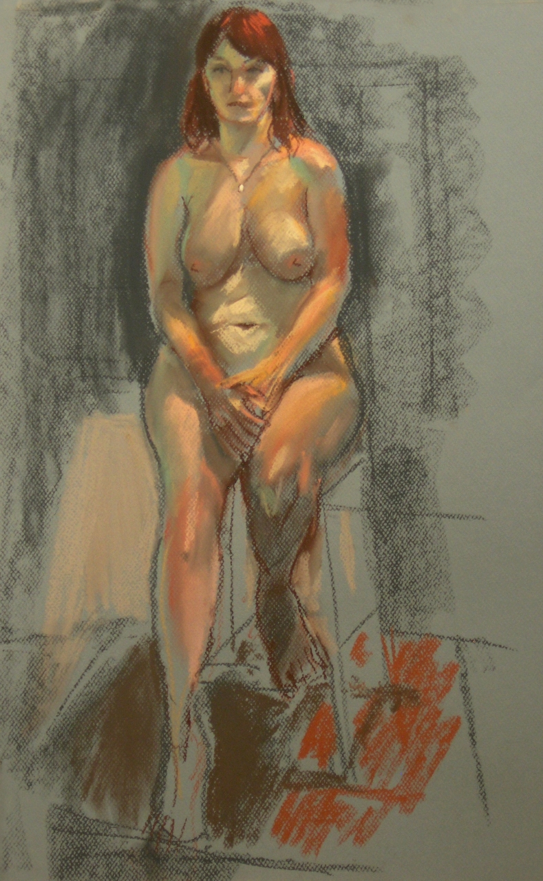 Life Drawing in Pastels 2012