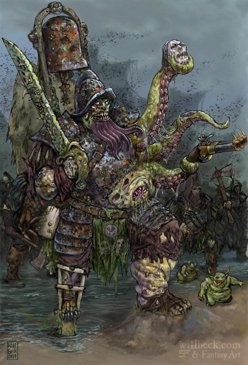 Pirate Champion of Nurgle