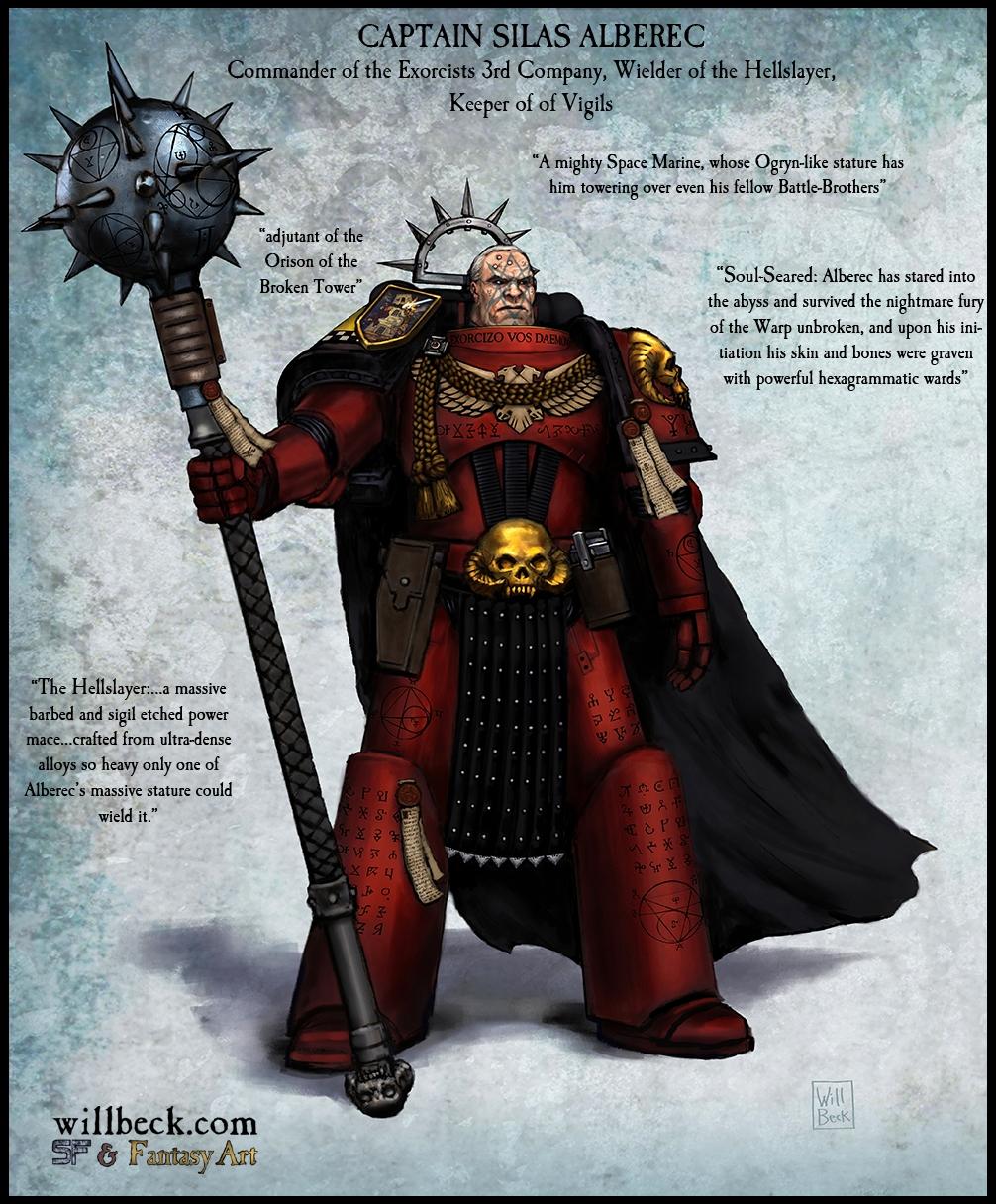 Silas Alberec Exorcists 3rd Company Captain
