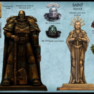 New Warhammer 40,000 statue ideas