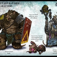 Space Ratmen Characters 01