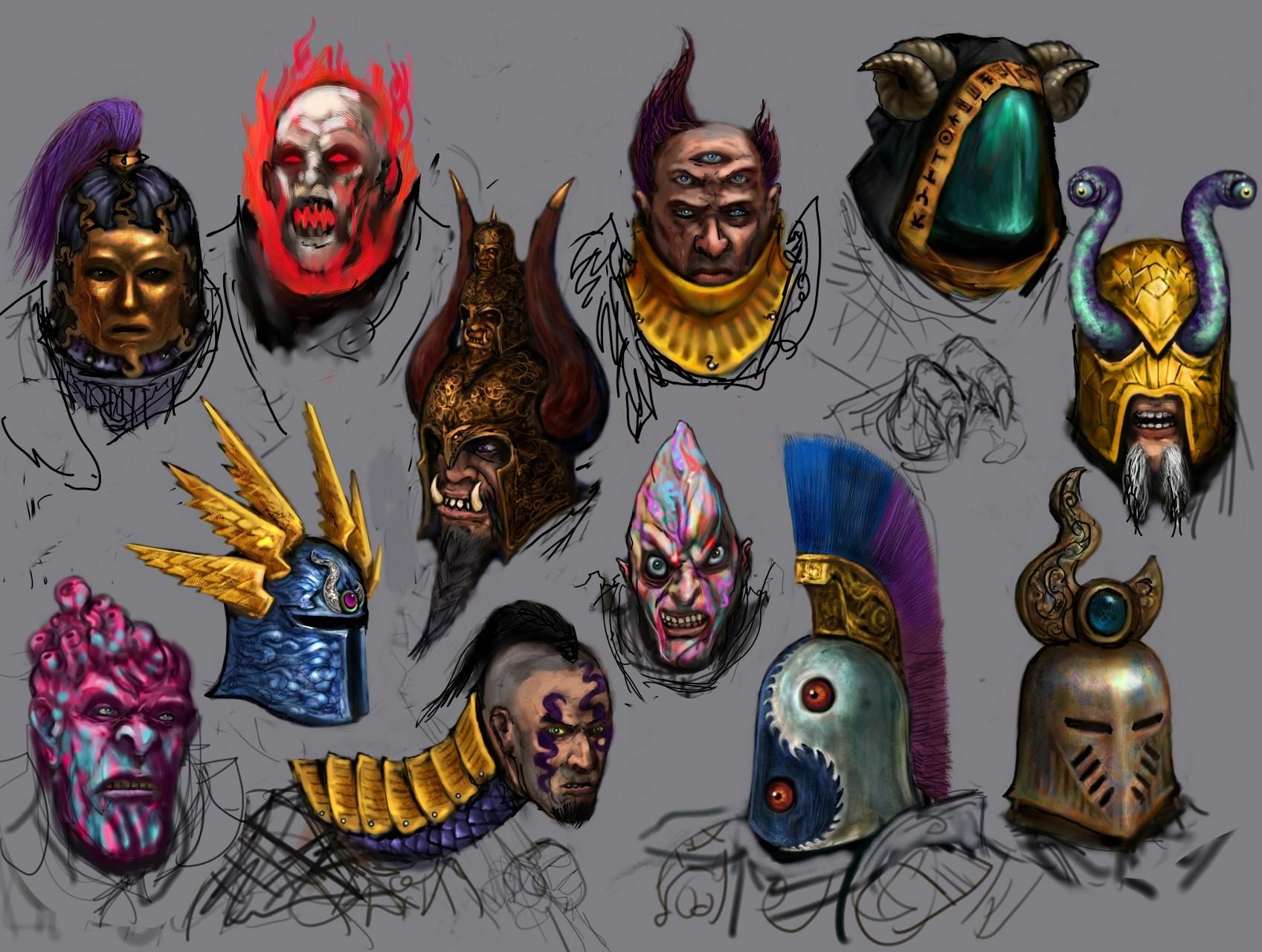 Warriors of Tzeentch