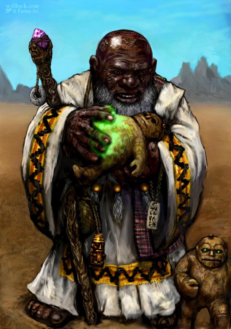 Earth Elementalist Dwarf