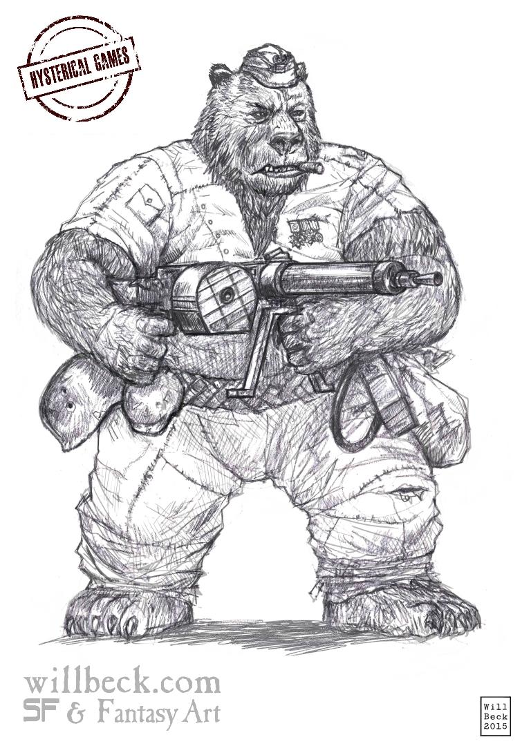 Panzerfaustë Wojtek the Bear