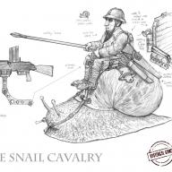 Gnome Snail Cavalry